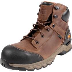 Timberland Pro Timberland Hypercharge Safety Boots Brown Size 8 - 19718 - from Toolstation