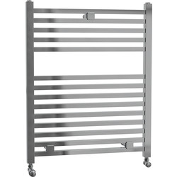 Cassellie Lindley Straight Designer Radiator 690 x 500mm Chrome 966Btu - 19729 - from Toolstation