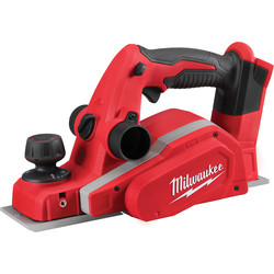 Milwaukee M18BP 18V Li-Ion Cordless Planer Body Only