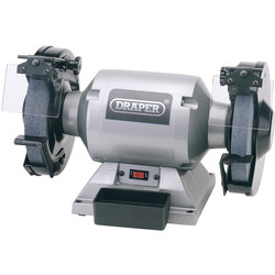 Draper Draper 200mm 550W Heavy Duty Bench Grinder 230V - 19784 - from Toolstation