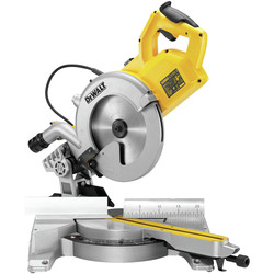 DeWalt DeWalt DWS778 250mm Compact Compound Slide Mitre Saw 240V - 19847 - from Toolstation