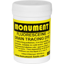 Monument Drain Tracing Dye Fluorescein - 19855 - from Toolstation