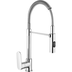 Franke Franke Merano Pull Out Mono Mixer Kitchen Tap Chrome - 19999 - from Toolstation