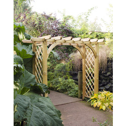 Forest Forest Garden Large Ultima Pergola Arch 245cm (h) x 270cm (w) x 136cm (d) - 20026 - from Toolstation