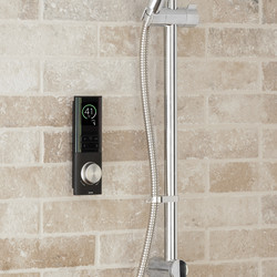 Triton Home Digital Mixer Shower with Riser Rail and Diverter