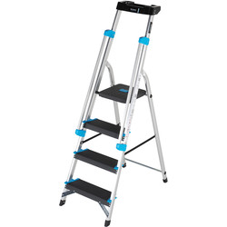 TB Davies TB Davies Premier XL Platform Step Ladder 4 Tread SWH 2.4m - 20155 - from Toolstation