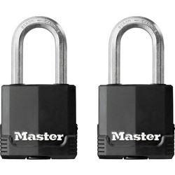 Master Lock Master Lock Excell Weather Tough Laminated Steel Padlock 49 x 8 x 38mm LS - 20221 - from Toolstation