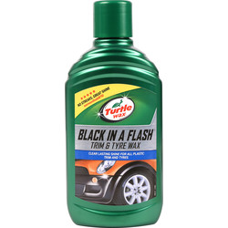 Turtle Wax Turtle Wax Black In A Flash 300ml - 20222 - from Toolstation