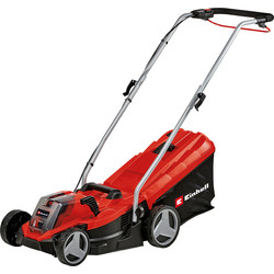 Einhell Einhell GE-CM 18/33 Li Power X-Change 18V 33cm Cordless Lawnmower 1 x 4.0Ah - 20247 - from Toolstation
