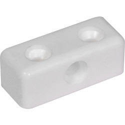 Modesty Block White - 20252 - from Toolstation