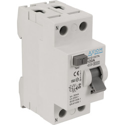 Axiom Axiom RCD A Type RCD 100A 30mA - 20302 - from Toolstation