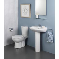 Ideal Standard Ideal Standard Remo Cloakroom Suite 1 Tap Hole 55cm - 20473 - from Toolstation
