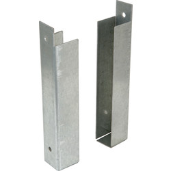 Powapost Gravel Board Clip 25 x 150mm - 20475 - from Toolstation