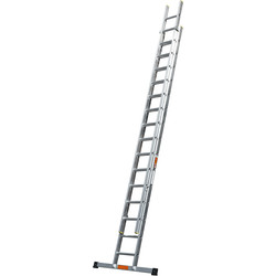 TB Davies TB Davies Pro Trade Double Extension Ladder 4.0m - 20480 - from Toolstation