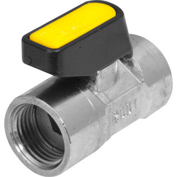 "Mini Lever Female Ball Valve 1/2"" - 20485 - from Toolstation"