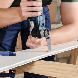 Bosch Starlock Wood and Metal Plunge Cut Multi Tool Blade