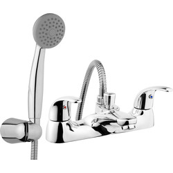 Ebb and Flo Ebb + Flo Braye Taps Bath Shower Mixer - 20561 - from Toolstation