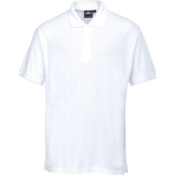 Portwest Polo Shirt Medium White - 20583 - from Toolstation