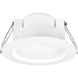 Enlite Enlite Uni-FIt IP44 Dimmable LED Downlight 10W 710lm A+ - 20614 - from Toolstation