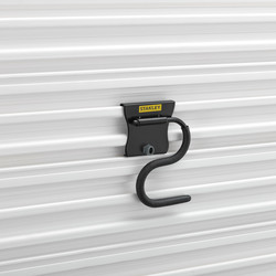 Stanley Track Wall System Curved Pivot Hook