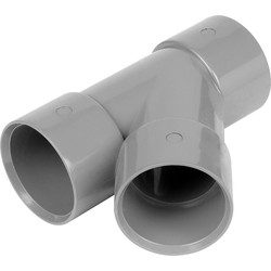 Aquaflow Solvent Weld 135° Branch 40mm Grey - 20688 - from Toolstation