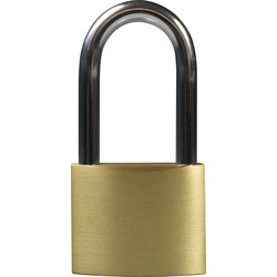 Squire Squire Watchman Brass Padlock 50 x 8 x 50mm LS - 20791 - from Toolstation