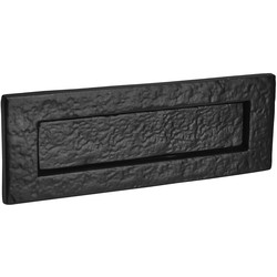 Old Hill Old Hill Ironworks Letter Plate 260mm x 90mm Rectangular - 20813 - from Toolstation