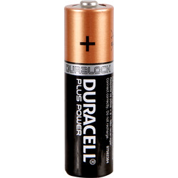 Duracell Duracell Plus Power Battery AA - 20838 - from Toolstation