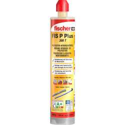 Fischer Fischer FIS P Plus Injection Polyester Resin 300ml - 20881 - from Toolstation