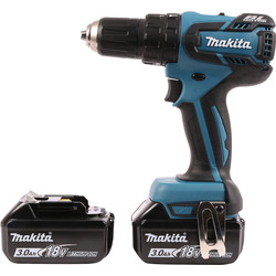 Makita Makita DHP459SFE 18V Li-Ion Brushless Combi Drill 2 x 3.0Ah - 20882 - from Toolstation