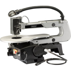 Draper Draper 405mm 90W Variable Speed Scroll Saw with Flexible Drive Shaft and Worklight 230V - 20895 - from Toolstation