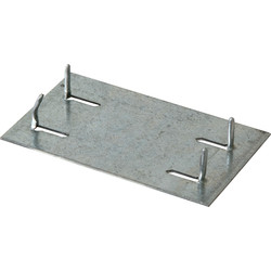 BPC Fixings Safe Plate 50 x 90mm - 20903 - from Toolstation