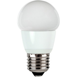 Corby Lighting Corby Lighting LED Mini Globe Frosted Lamp 6W E27/ES 470lm Warm White - 20969 - from Toolstation