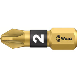 Wera Wera BiTorsion Diamond 25mm Bit PZD 2 x 25mm - 20982 - from Toolstation