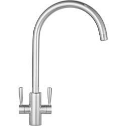 Franke Franke Ascona Mono Mixer Kitchen Tap Silk Steel - 21015 - from Toolstation
