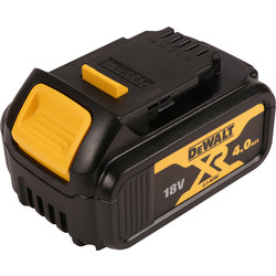 DeWalt DeWalt XR 18V Battery 4.0Ah - 21058 - from Toolstation