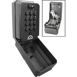 Squire Squire Push Button Key Safe  - 21094 - from Toolstation