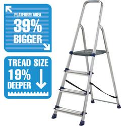 High Handrail Step Ladder LARGE