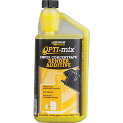 Everbuild Everbuild Opti-Mix Super Concentrate 3-in-1 Render Additive 1L - 21144 - from Toolstation