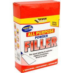 Everbuild All Purpose Powder Filler 1.5kg - 21148 - from Toolstation
