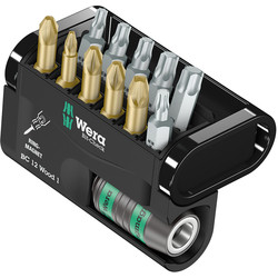 Wera Wera Torsion Screwdriver Bit Set  - 21178 - from Toolstation