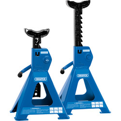 Draper Draper Ratcheting Axle Stands 2 Tonne - 21199 - from Toolstation