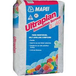 Mapei Ultraplan Renovations Screed 3240 25kg - 21200 - from Toolstation