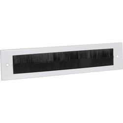 Stormguard Stormguard Flushback Brush Letter Plate White - 21313 - from Toolstation