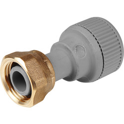 Straight Tap Connector 15mm - 21380 - from Toolstation