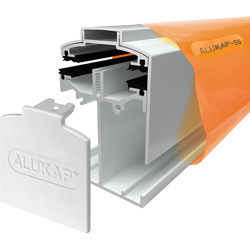 Alukap Alukap-SS Self Support Gable Bar White 4800mm - 21401 - from Toolstation