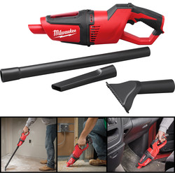 Milwaukee M12HV-0 12V Li-Ion Cordless Stick Vacuum Cleaner Body Only