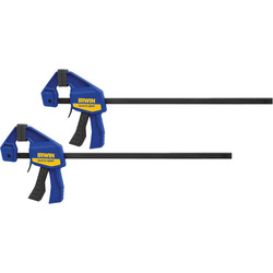 Irwin Irwin Quick-Grip Mini 2 Pack 12''/300mm - 21564 - from Toolstation