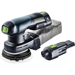 Festool Festool ETSC 125 Li 18V Cordless Eccentric Sander 2 x 3.1Ah - 21599 - from Toolstation
