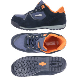 Scruffs Halo 2 Safety Trainers Navy Size 8